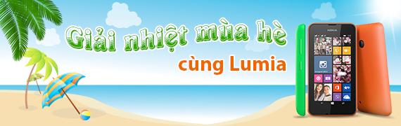 Giải nhiệt mùa hè cùng Lumia