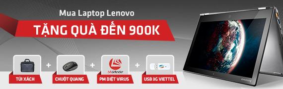 Gói quà tặng lenovo tới 900k