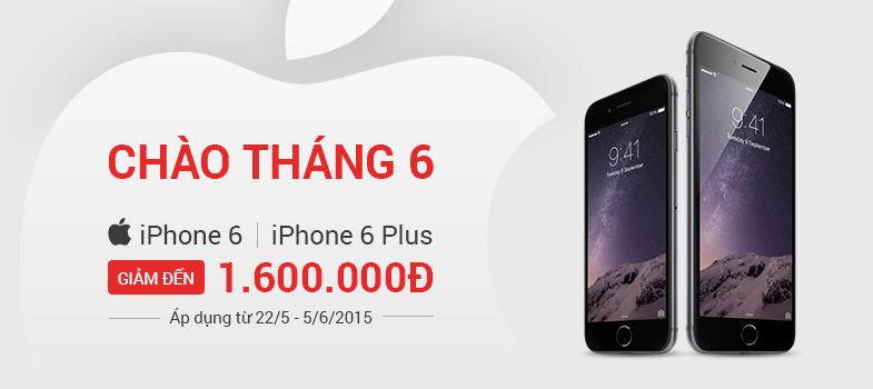 iPhone 6 giảm 1.6