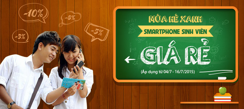 smartphone sinh viên