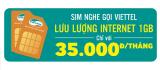 Sim nghe gọi Viettel – Online thả ga chỉ với 35.000đ/ tháng
