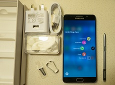 Cách test nhanh Galaxy Note 5 khi mua