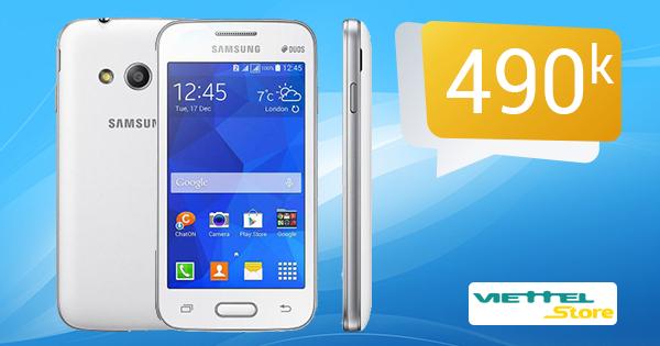 Tưng bừng khai trương siêu thị - Samsung Galaxy V chỉ 490.000