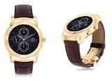 LG công bố smartwatch Watch Urbane Luxe thiết kế vàng 23 cara, giá bán $1200