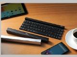 """Bàn phím """"ảo thuật"""" hô biến thành thanh cuộn bỏ túi được LG ra mắt dành cho smartphone và tablet"""