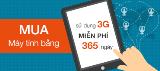365 ngày sử dụng 3G miễn phí