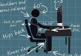 Làm thế nào để ngồi máy tính đúng cách không gây hại đến sức khỏe?