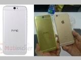 Lộ ảnh HTC One A9 nhái thiết kế của iPhone 6
