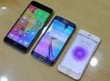 Samsung Galaxy S6 Edge so dáng iPhone 6 và iPhone 6 Plus