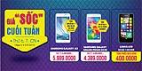 Samsung Galaxy A3 Giảm sốc chỉ còn 6.189.000đ