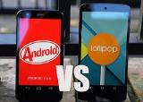 Nên nâng cấp lên Android 5.0 hay ở lại Android 4.4