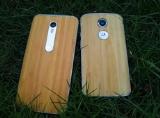 Cặp đôi smartphone vỏ tre của Motorola đều hỗ trợ 4G