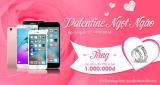 Lãng mạn mùa valentine với khuyến mãi bất ngờ