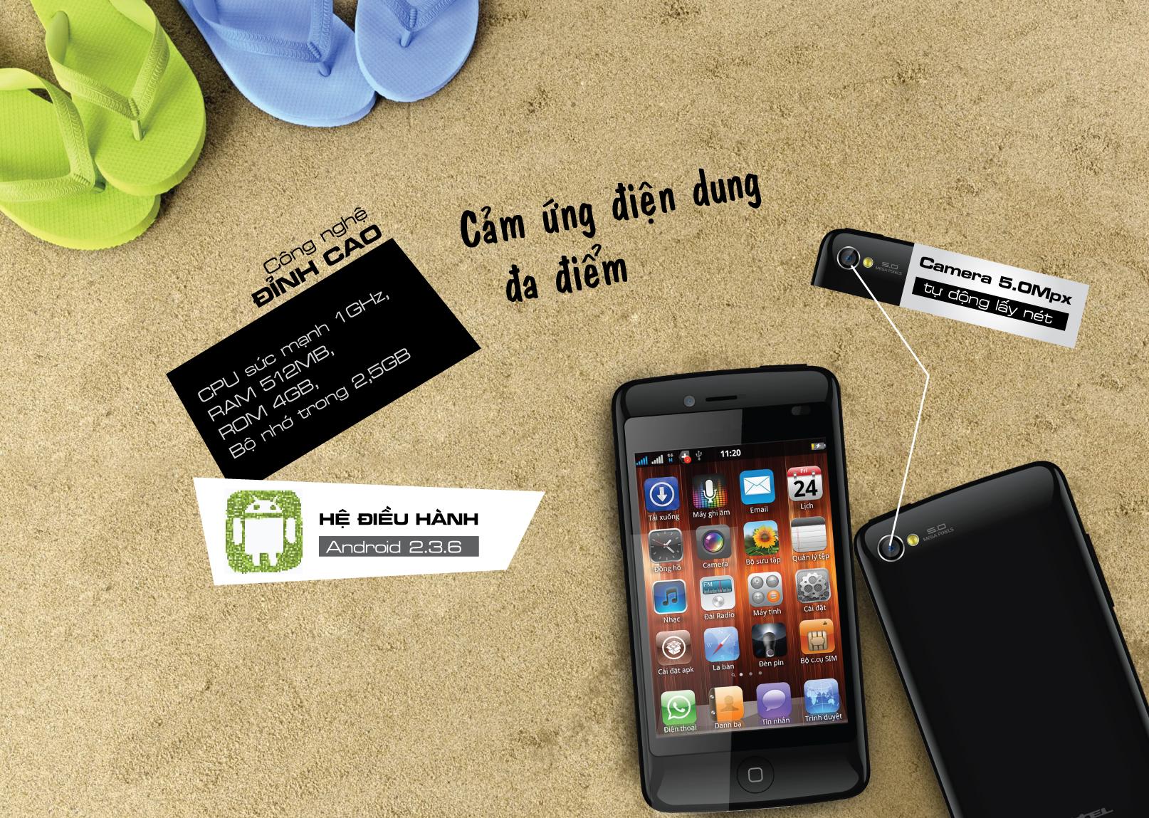 Viettel ra mắt i6 và i9: smartphone cấu hình cao giá chỉ từ 3 triệu đồng