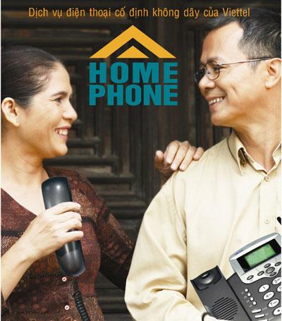 Chỉ với 50.000đ khi hòa mạng Homephone tại 8 tỉnh Miền Tây