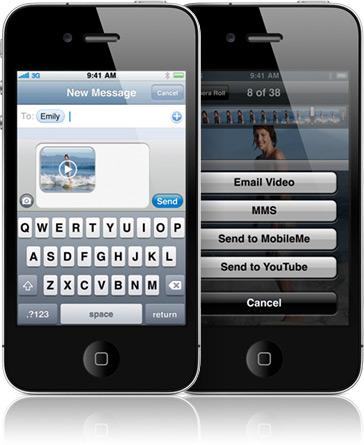 Mua Iphone 4 8GB và Iphone 4S 64GB tặng quà sành điệu