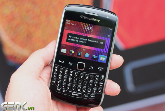 BlackBerry Curve 9360 siêu mỏng tại Việt Nam