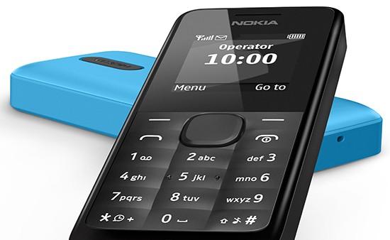 Nokia khai tử điện thoại đen trắng bằng Nokia 105