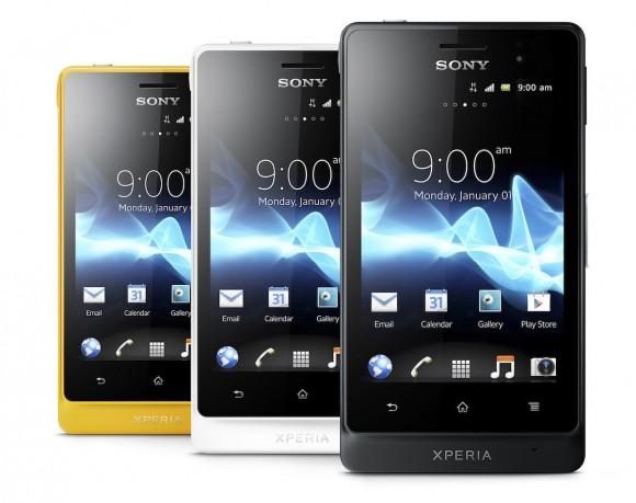 Sony tung ra điện thoại chống nước Xperia go, Xperia acro S