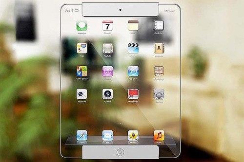 [Ý tưởng] iPad với màn hình trong suốt